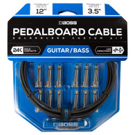 NEW BOSS BCK-12 SOLDERLESS PEDALBOARD CABLE KIT