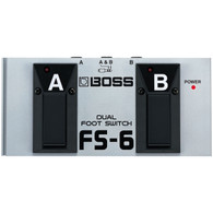 NEW BOSS FS-6 DUAL FOOTSWITCH