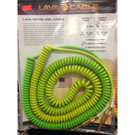 NEW LAVA 25' MORPH COIL STRAIGHT TO STRAIGHT GREENS