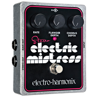 NEW ELECTRO HARMONIX STEREO ELECTRIC MISTRESS FLANGER/CHORUS