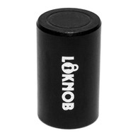"NEW LOKNOB FUGGEDABOUDIT TOUR CAP 1/2"" OD black for boss type pedals with m7 threaded pots 13127-b"