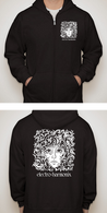 NEW ELECTRO HARMONIX HOODIE - BLACK - MEDIUM