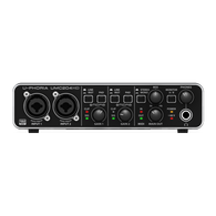 NEW BEHRINGER U-PHORIA UMC204HD AUDIO / MIDI INTERFACE