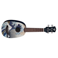 NEW LUNA SOPRANO UKE GREAT WAVE PINEAPPLE W/GIGBAG