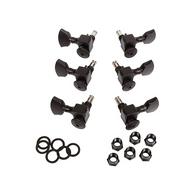 NEW SPERZEL TRIM-LOK 3+3 BLACK MACHINE HEADS