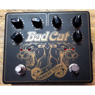 SOLD - BAD CAT SIAMESE DRIVE DUAL TRANSPARENT OVERDRIVE