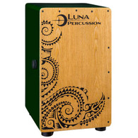 NEW LUNA LPC CAJON, W/ BAG - GREEN