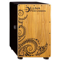 NEW LUNA LPC CAJON, W/ BAG - SATIN BLACK