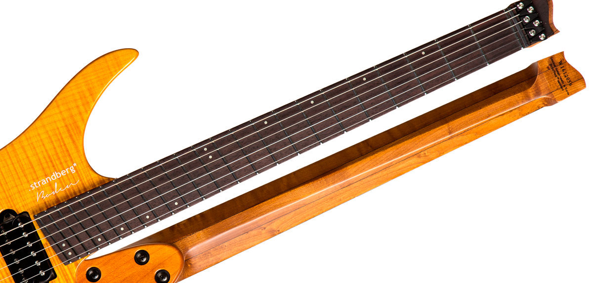 New Strandberg Boden Fusion 6 Trem Honey Boston Guitar