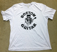 NEW BOSTON GUITAR T-SHIRT - WHITE