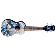 NEW LUNA Uke Great Wave Soprano w/ Gigbag