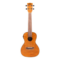 NEW KALA EXOTIC MAHOGANY CONCERT W/ EQ