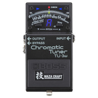 NEW BOSS TU-3W CHROMATIC TUNER