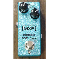 SOLD - MXR M296 CLASSIC 108 FUZZ MINI