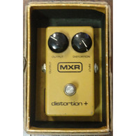 SOLD - VINTAGE MXR BLOCK LOGO DISTORTION+ WITH BOX