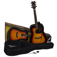 NEW DEAN AXS Prodigy Acoustic Pack Tobacco Sunburst