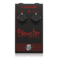 NEW T.C. ELECTRONIC EYEMASTER METAL DISTORTION