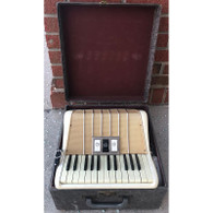 Vintage Hohner 25 Key Accordion