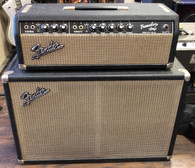 SOLD - 1965 Fender Tremolux Head and Cab