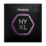 NEW D'ADDARIO NYXL09564SB Nickel Wound, 7-String, Custom Light, 9.5-64