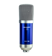 NEW NADY NAD-SCM-700 Eight Piece Studio Condenser Microphone Kit, Podcast into Computer or Smart Devices
