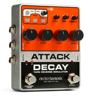 NEW ELECTRO HARMONIX ATTACK DECAY - TAPE REVERSE SIMULATOR