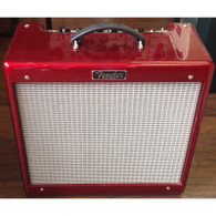 "SOLD - Fender Blues Jr. III ""FSR"" Limited Edition Red Sparkle"