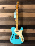 NEW Von K Guitars T-Time '69 Thinline Telecaster - Aged Seafoam Green
