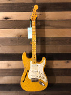 NEW Von K Guitars S-Time BSBF Thinline Stratocaster - Butterscotch Blond