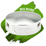 NEW BAREFOOT BUTTONS V1 - Big Bore - Silver