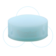 NEW BAREFOOT BUTTONS GLOWCAPS - BLUE