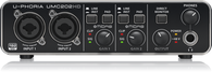 NEW BEHRINGER U-PHORIA UMC202HD AUDIO / MIDI INTERFACE