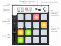 NEW IK MULTIMEDIA IRIG PADS