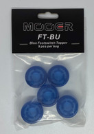 NEW MOOER CANDY FOOTSWITCH TOPPER - BLUE