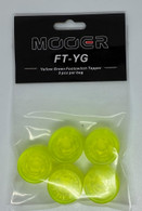 NEW MOOER CANDY FOOTSWITCH TOPPER - YELLOW GREEN