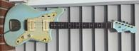 Von K Guitars J-Master - Sonic Blue