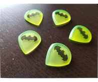 Woodland Cast Runic Picks - Batman Glow