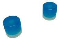 Woodland Cast Halo Knobs - Blue/Silver