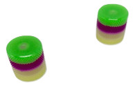 Woodland Cast Halo Knobs -Green/Purple/Silver/Yellow