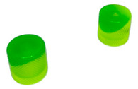 Woodland Cast Halo Knobs -Green/Yellow
