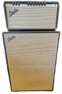 1969 FENDER BANDMASTER REVERB HEAD AND CAB