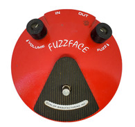 DUNLOP FUZZ FACE RED EFFECT PEDAL