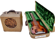 1938 OAHU LAP STEEL GUITAR & AMP SETR