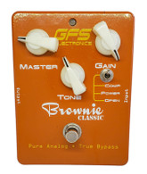 GFS ELECTRONICS TONE BROWNIE DISTORTION PEDAL