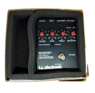 TC ELECTRONICS BOOSTER/LINE DRIVER W BOX