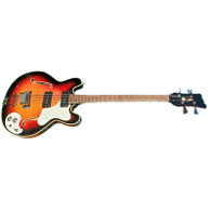 1966 MOSRITE CELEBRITY II BASS SUNBURST #0003