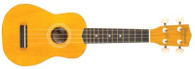 SAVANNAH SOLID YELLOW UKULELE