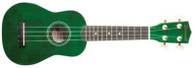 SAVANNAH SOLID GREEN UKULELE