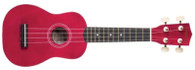 SAVANNAH SOLID RED UKULELE