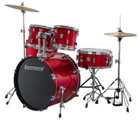 LUDWIG ACCENT 5-PIECE DRUM SET RED